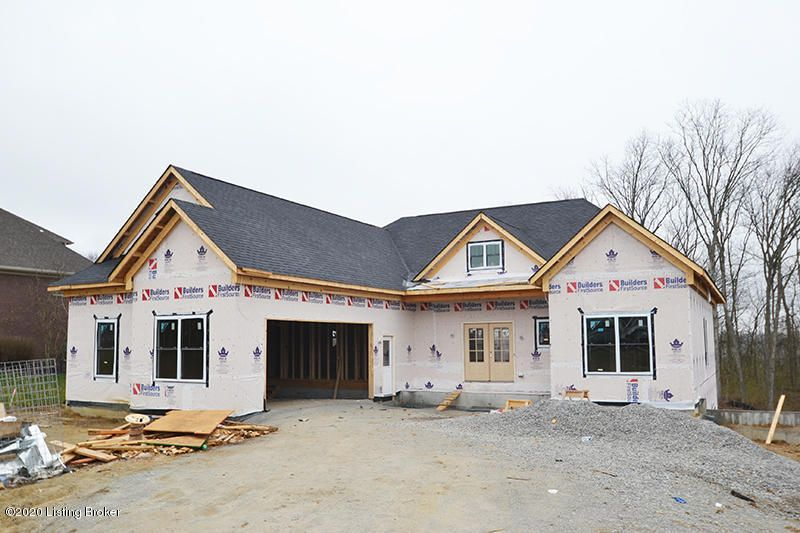 This Spacious split ranch ranch floor plan is currently under construction in Ballard Woods Subdivision. It features 10 foot walls on both the main level and in the basement.   The open living area has a stone fireplace in the living room and  high end stainless appliances and granite countertops in the kitchen.  The laundry/mud room enters...