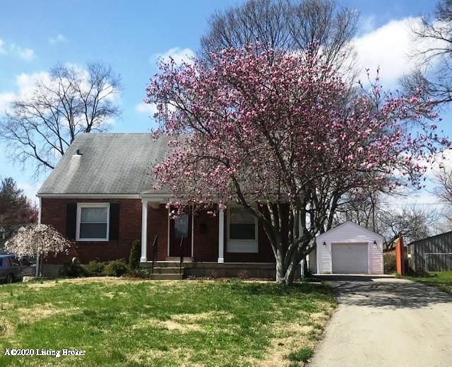 The front porch flanked with flowering trees, in a cul de sac, is so inviting. Refinished and new hardwood floors, wood burning fireplace, replacement windows, beautiful updated kitchen with quartz countertop, 5 burner gas stove and stainless appliances, 2 full bathrooms, finished basement, detached garage with carport, are just a few of the...
