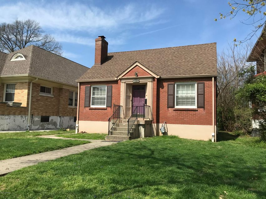 A super-priced, renovation-ready home in the Highlands on a street where homes sell for $350,000-$450,000 and more after renovations. Large rear yard perfect for blowing out house with an addition and/or a carriage house garage. NO FHA OR VA OFFERS. Sold as-is and needs work. Earnest money, once contract is accepted, must be in certified funds...