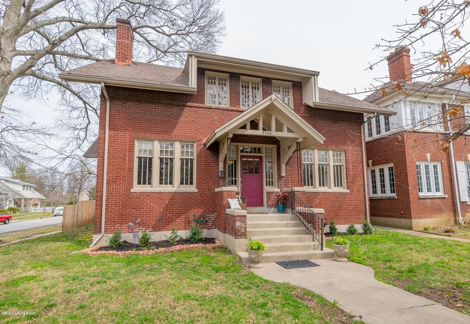 This classic red brick 100 year old home has been in the family for many years. This home offers updated kitchen and baths. This home can boost 5 bedrooms, 3.5 bath, an eat-in-kitchen with a florida room or breakfast nook, stainless steele appliances and butler sink and painted cabinetry. The living room with fireplace surround, master bedroom...