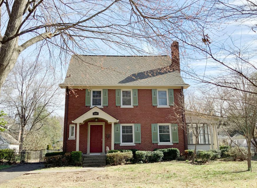 First showings Saturday April 4 by appointment!FANTASTIC location in AUDUBON PARK!  This is a gorgeous 2 story home with a finished 3rd floor AND a finished basement with egress window!  Enter the foyer and you will experience the timeless charm!  Large living room with fireplace, French door to window filled sunroom (heated), large dining...