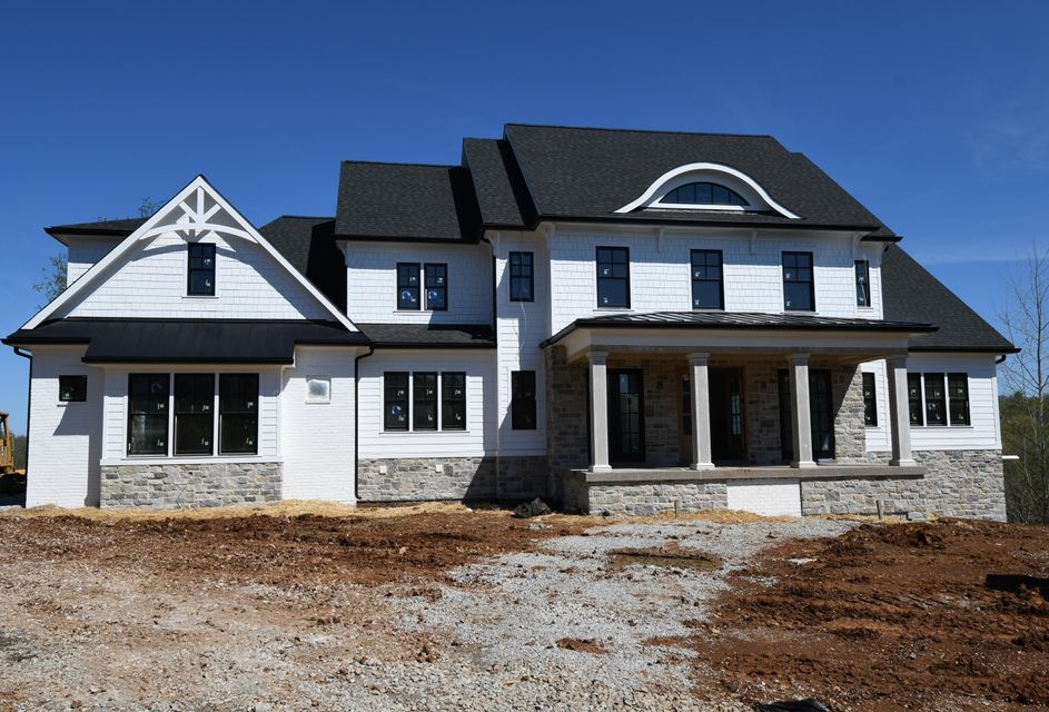 Gorgeous new construction by Sunshine Builders currently under construction. The custom trim package in this home is impressive using shiplap, board & batten, beams, & exquisite trimmed ceilings. This luxury home offers 7 bedrooms, 6 full baths, 2 half baths, first floor master with ensuite, spacious kitchen with breakfast area, hearth room,...