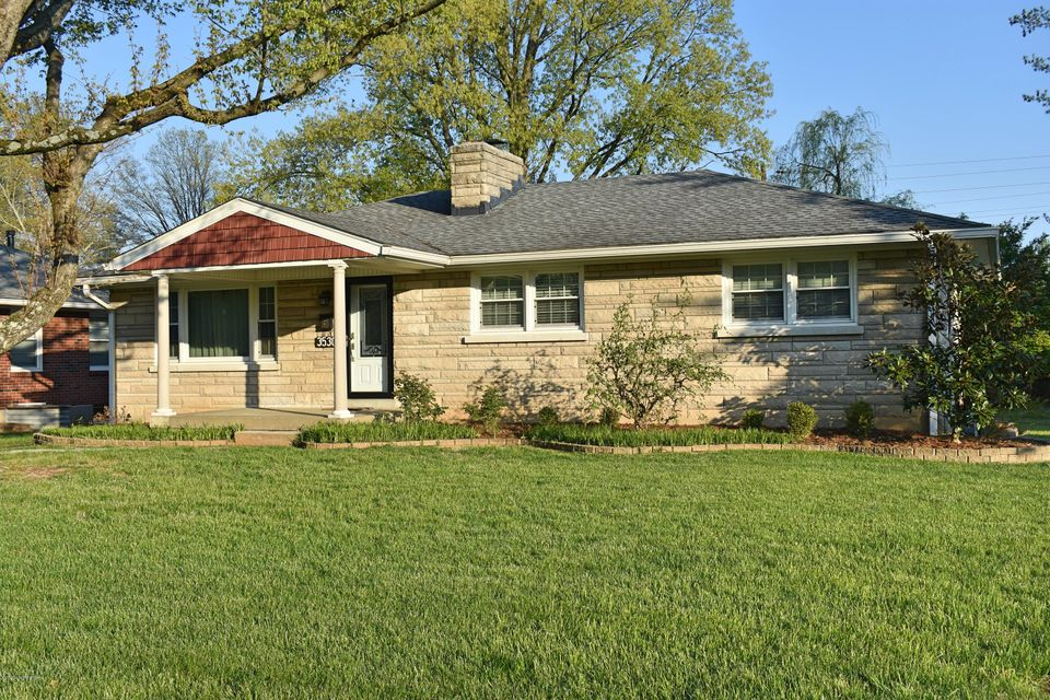 Welcome to 3530 Hanover Rd located in the Broadfields neighborhood.  This 3 bedroom, 2 bath St. Matthews home has been beautifully updated over the last several years.  The large kitchen features custom cabinets, granite countertops, a tile floor, recessed lighting, and stainless steel appliances including a gas range.  Hardwood floors throughout the living room, bed rooms, and dining area.  The bathrooms feature custom tile work and newer fixtures.  The large basement could be finished adding additional square footage.  Enjoy the ultimate at-home spa experience with the Steamist Steam shower system installed in walk-in glass shower.  Call today for a showing!