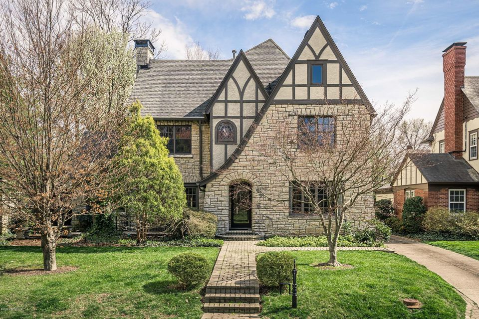 An amazingly renovated and preserved stone tudor home. The first floor has wood floors throughout with 10' ceilings. The formal living room has a fireplace and opens to a study on the side. Behind the formal dining room is the kitchen with premium appliances, granite counters, breakfast bar, and an entertaining/gathering room overlooking the...