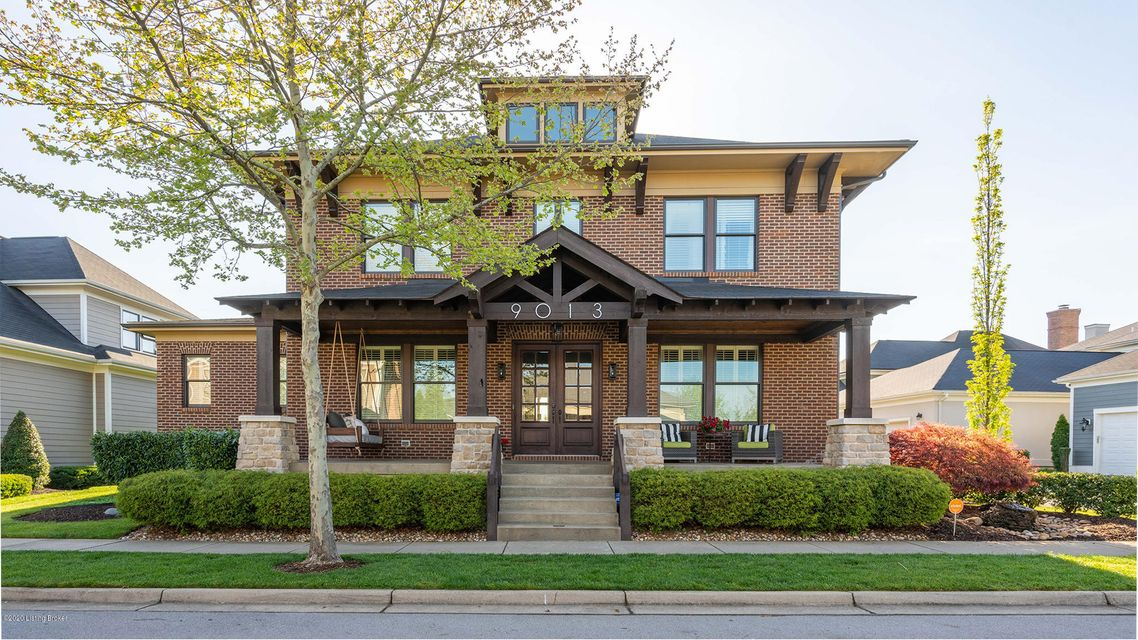 Fabulous home located in the established South Village of Norton Commons- convenient to parks, dog parks, pools and town center. The beautiful modern craftsman exterior features a large front porch, patio and a waterfall. Gracious entry with beautiful custom mill work throughout leads you into this open concept home. Just off the left of the...