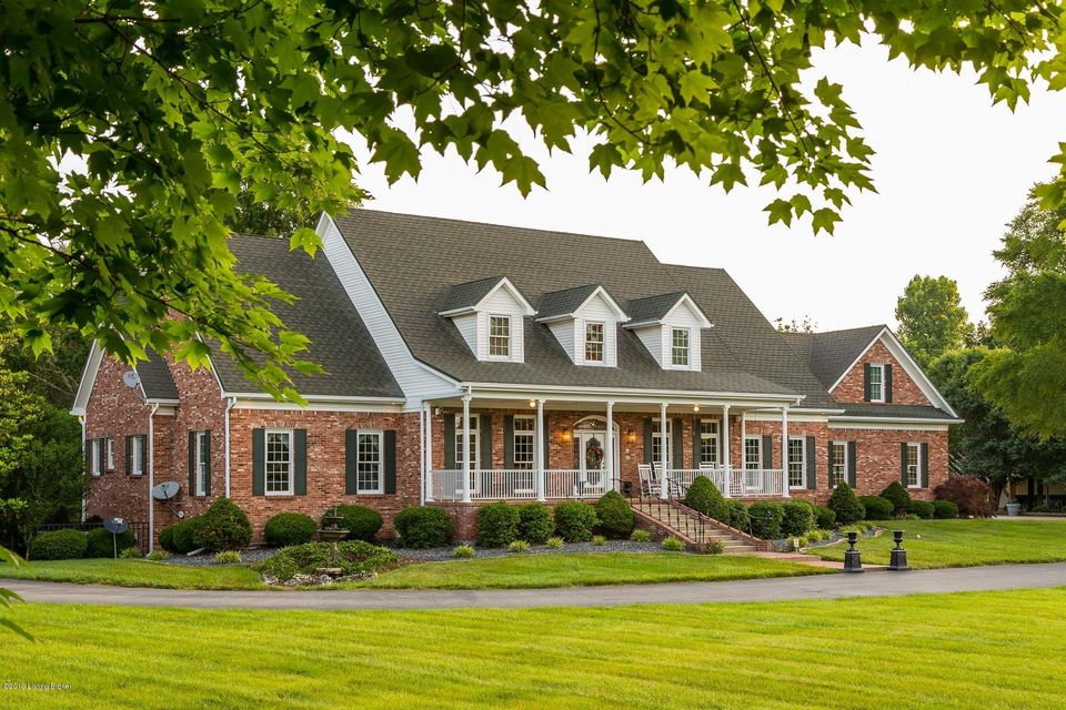 The epitome of elegance and charm, your new home is the perfect melding of private sophistication with welcoming warmth. Your open-design first floor is perfect for hosting, with your kitchen & living room combo the ideal, central gathering place. Guests will look forward to attending dinners at your formal dining room, or soaking in the natural light in your sunroom. They can then venture out to your pool, eventually swinging through the patio to your finished basement and grabbing a drink at your full bar. All along they will marvel at the carved detailing and iron flourishes throughout. With four bedrooms on the second level, there will be no shortage of space for friends & family. This child listing is solely for the home and excludes 2 multi-purpose buildings and related acreage.