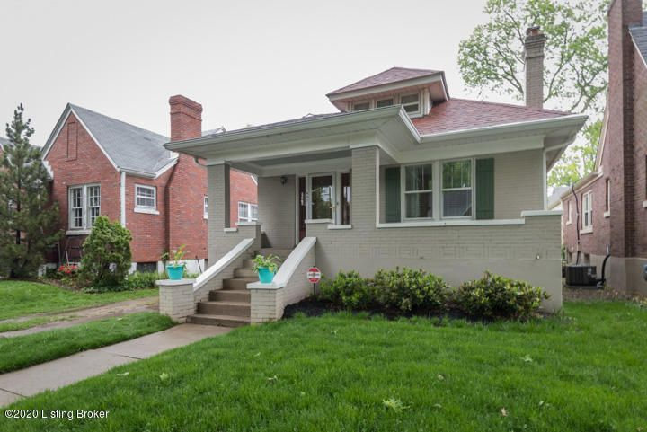 Welcome Home! This Charming St. Matthews Bungalow is Waiting for you. This 3 Bedroom 2 1/2 Bath Home features a 2ND Floor suite with a private bath, 2 bedrooms on the main level, separate dining toom and a mostly finished Walkout basement with a 1/2 bath. The Furnace, AC, and roof have been updated. The basement has been professionally waterproofed...