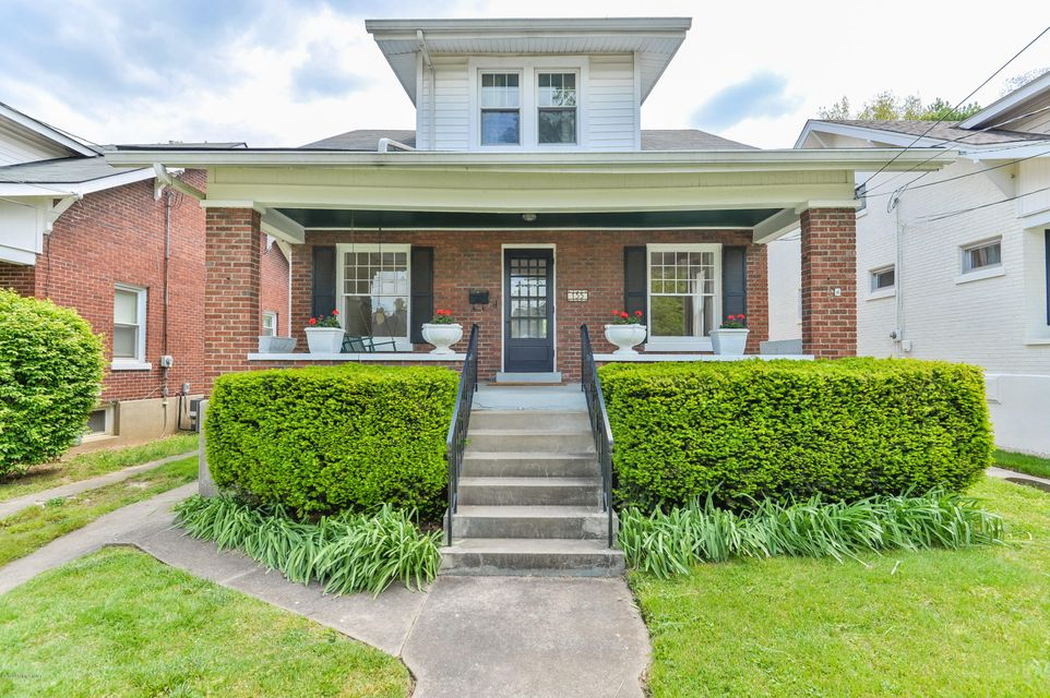 This classic Crescent Hill brick bungalow has it all!  The location, two bedrooms with walk in closets, two full bathrooms, a first floor laundry, 1 car garage and a charger for an electric car.  The home has been fully updated and freshly painted throughout.  The kitchen was moved and designed with beautiful finishes to flow into the sitting...