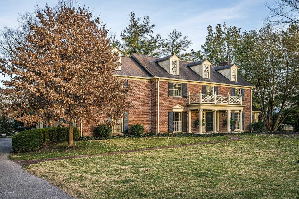 Well maintained and restored Georgian style home in the pristigious Country Club section of Indian Hills. The gracious foyer has marble tile flooring and leads to the formal living room, dining room, kitchen and up the curved open staircase. The living room has a wood burning fireplace, built-in cabinetry and opens to an enclosed patio. The...