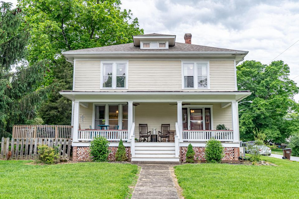 This historic, elegant and most charming home sits on a corner lot on Main Street in the heart of Smithfield. Absolutely stunning and renovated in 2017 this 4 bedroom 3 full bath combines the perfect balance between new and historic, giving it the most character for conversation. The beautiful front porch wraps around and connects to a nice...