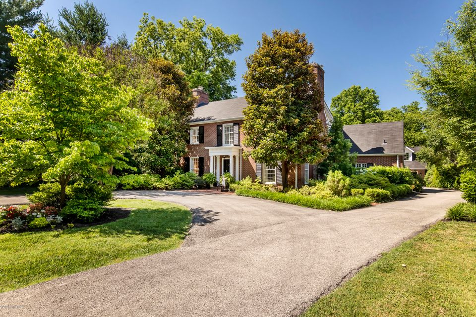 Imagine a Timeless Southern Design in the Highlands! Built in 1938, the owners have maintained the original charm while making many updates for today's family. This colonial classic features a timeless design in a private park-like setting just under an acre with beautiful landscaping and mature trees. The first floor is ideal for large gatherings...