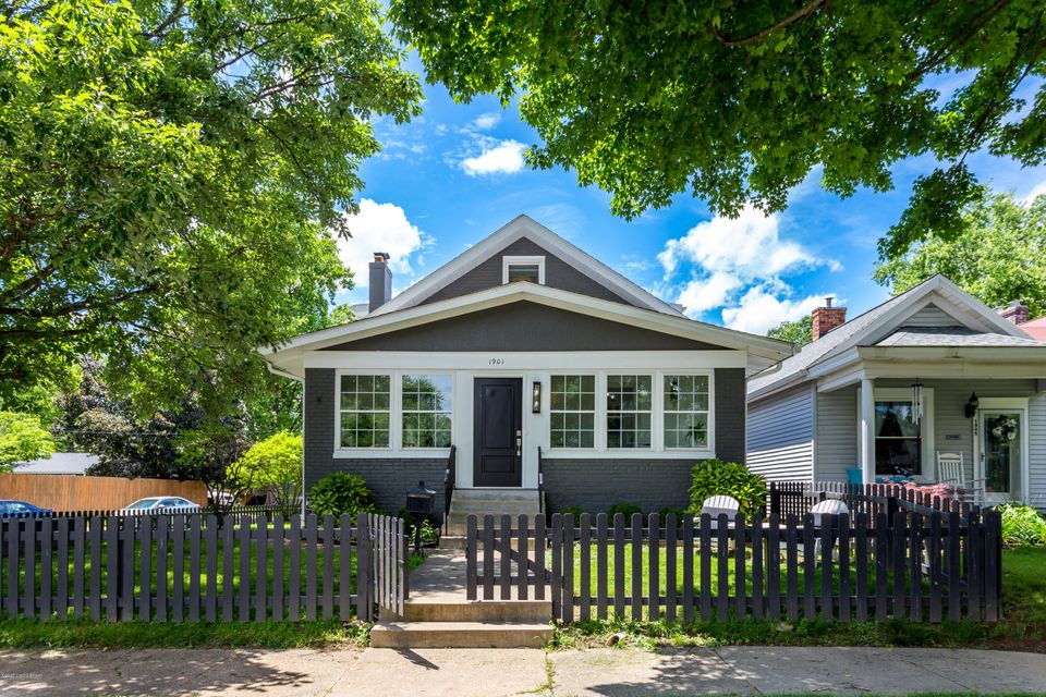 WOW - professionally remodeled bungalow has been transformed into a stylish 4/5-bedroom, 3 full bathroom home with over 3000 square feet of total livable space, and you won't want to miss this wonderful turnkey opportunity! The space configuration of this special home is ideal for home togetherness and also offers various private work/study...