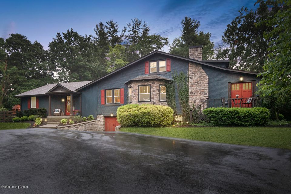 Historic Anchorage meets Southern Sophistication and Charm.  With near 3200 square feet finished this home is truly a must see.  Welcome to 1407 Glenbrook Road.  Nothing more than a short distance to the Award-Winning Anchorage School, Village Anchor or Owl Creek Country Club. This home captures your eye every time you turn down Anchorage's...