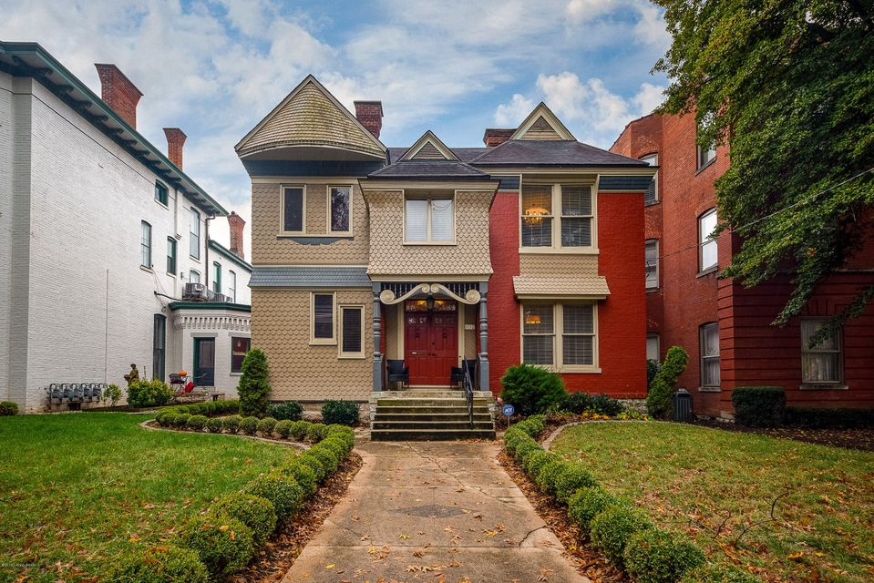 Wonderful 5 Bedroom 4.5 Bath Cherokee Triangle updated home, which includes a beautifully renovated 1 Bedroom carriage house. This great home features  an updated gourmet Kitchen with custom cherry cabinetry, granite counter tops, a beautiful copper hood, stainless steel appliances, and an updated back splash.  There is a 1st floor master...
