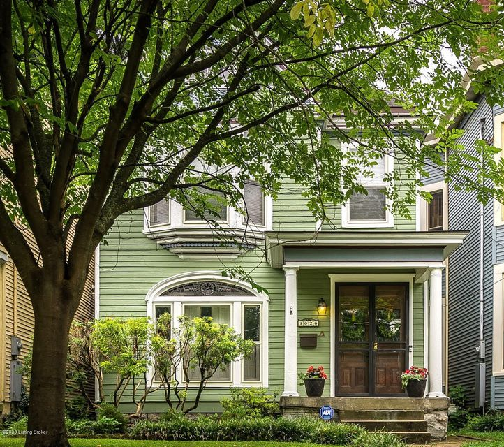 Welcome to 1026 Everett Ave, a circa 1900 Highlands home located in Louisville's historic Cherokee Triangle. Architectural features consistent with the period and style of this home can be found throughout, including original wood plank floors, solid wood doors, transom windows, high ceilings, intricate moldings and adorned fireplaces. With...