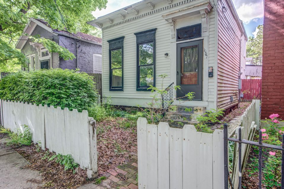 This is your opportunity to have a home steps away from all that Louisville has to offer. This charming 2 Bedroom home is perched right in the heart of Nulu. Keeping to this you can be in the Highlands within 5 minute drive or even a 10- 15 minute walk. The house itself features a large living room, first floor bedroom.  Kitchen is right off the back of the house and a large backyard to book.  Upstairs features another bedroom with separate nook for what was formerly used as an office. Don't miss out on an opportunity to make this your new home.Currently the property is rented for $950 a month. The tenant would be happy to stay or could out to make this an immediate move in for the new Owner.