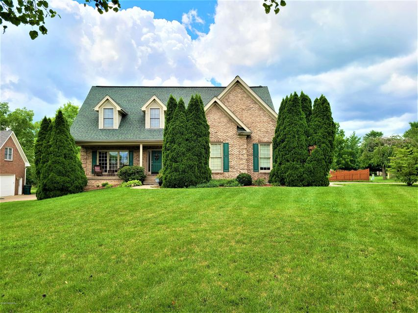 Welcome Home! This charming house is located on a quiet cul-de-sac with golf course views. This traditional home with 3857 total sq. ft. (2907 sq. ft above ground and 950 sq. ft. finished in the basement) will surprise you with its many rooms and open floor plan. It features 4 BR's, 3.5 bths, 2 living rooms and kitchen. Sellers spent over...