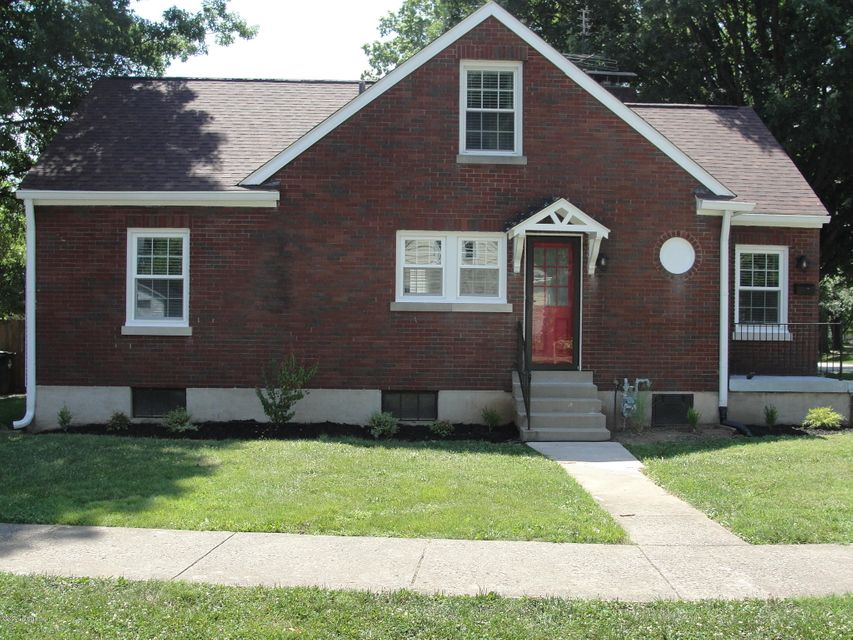 HERE'S A HOME WITH LOTS OF CHARM  IN THE HEART OF ST MATTHEWS IN MOVE-IN CONDITION!!! This 3BR home w/1,300 sq ft has been completely upgraded inside& outside,  complete New fully equipped kitchen w/stainless steel appliances, Refrigerator (Lowe's delivered wrong size, will be replaced mid-August)), Range, DW, Microwave, New beautiful white cabinets, complete New Bath, huge living room w/fireplace, New w/w carpet & vinyl, New replacement windows w/almn trim, New Roof, unfinished basement. plumbing / electrical  has been completely upgraded, the upstairs has 1BR plus huge amount of storage space and plenty of room to add another bedroom & bath, New landscaping, located on corner lot (Browns/Winchester), Better Hurry!!! Owner/Agent