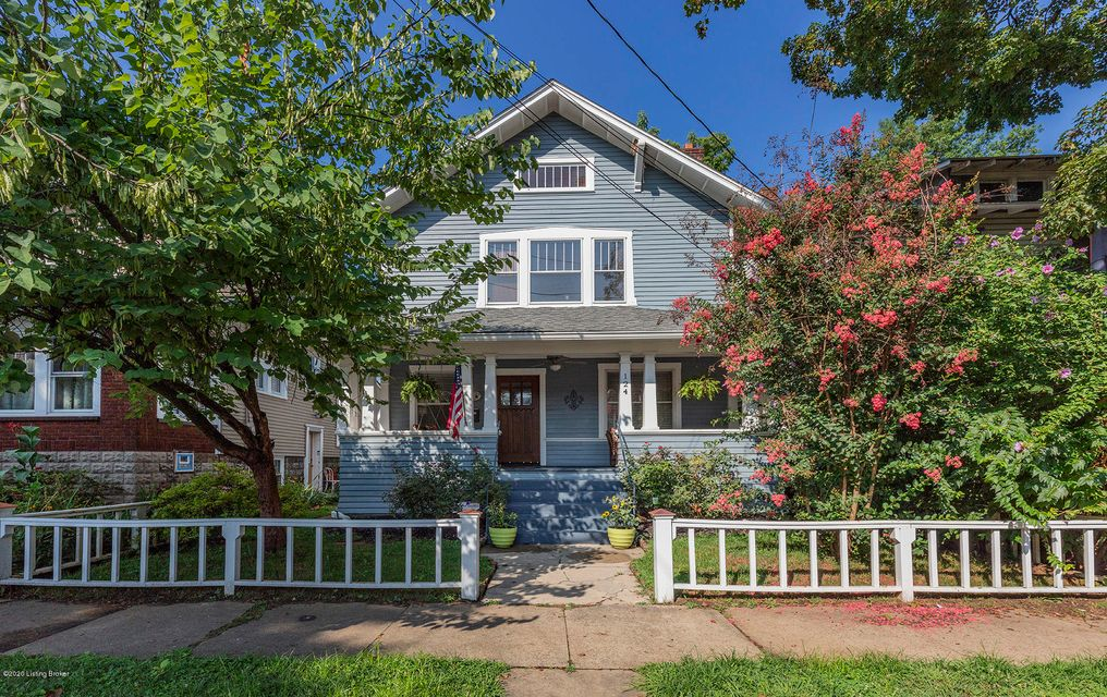 Come social distance on the welcoming front porch of this Crescent Hill classic. This beautiful 4 bedroom 3.5 bathroom home has no shortage of outdoor entertainment space. You will find a one of a kind second floor terrace that overlooks the neighborhood. There is also a large back deck just off the kitchen. When you enter this home, you are...