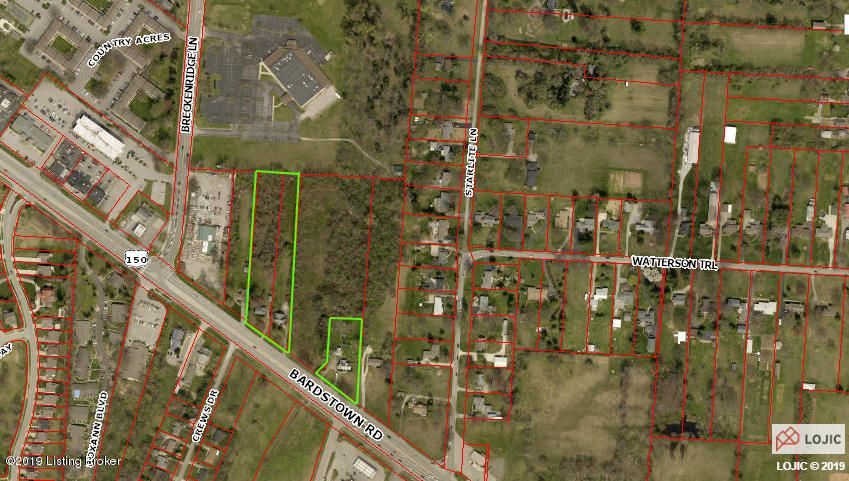 EXCELLENT DEVELOPMENT OPPORTUNITY! This property being sold as a package with 4609,4611 & 4623 Bardstown Rd (Deeded together). As well as 4613 Bardstown Rd (Deeded separately) combining for a total of 8.6649 acres according to the PVA. Agents, Please see agent notes.
