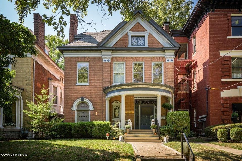 Move right in and enjoy this stylishly updated six-bedroom Cherokee Triangle home that artfully marries timeless architectural character with a modern and comfortable design aesthetic. The main floor features a bright living room with built-in bookshelves and rolling library ladder and a spacious family room with easy access to the kitchen...