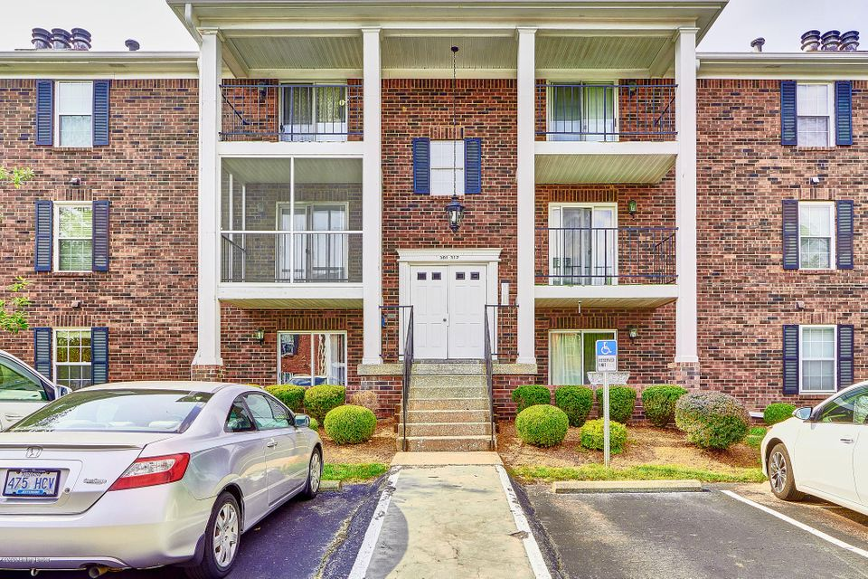 Welcome to this recently completely updated 2 bedroom and 2 full bath condo in Donard Park. This is a convenient first floor unit located at the first left turn of the complex, and is move in ready for you. The condo features an open living room and dining area combo with a fireplace, and sliding doors to a private screened in balcony. Current owner has completely remodeled and updated the kitchen with new cabinets, new stove, microwave and newer fridge, installed new Heating System, new water heater, new floors, new light fixtures, two new windows, one in bathroom and one in bedroom. The kitchen has lots of cabinets and a nice size pantry. The master bedroom is a good size, with a walk-in closet and a private bathroom, and with a personal balcony. There is a second bedroom and full bath.