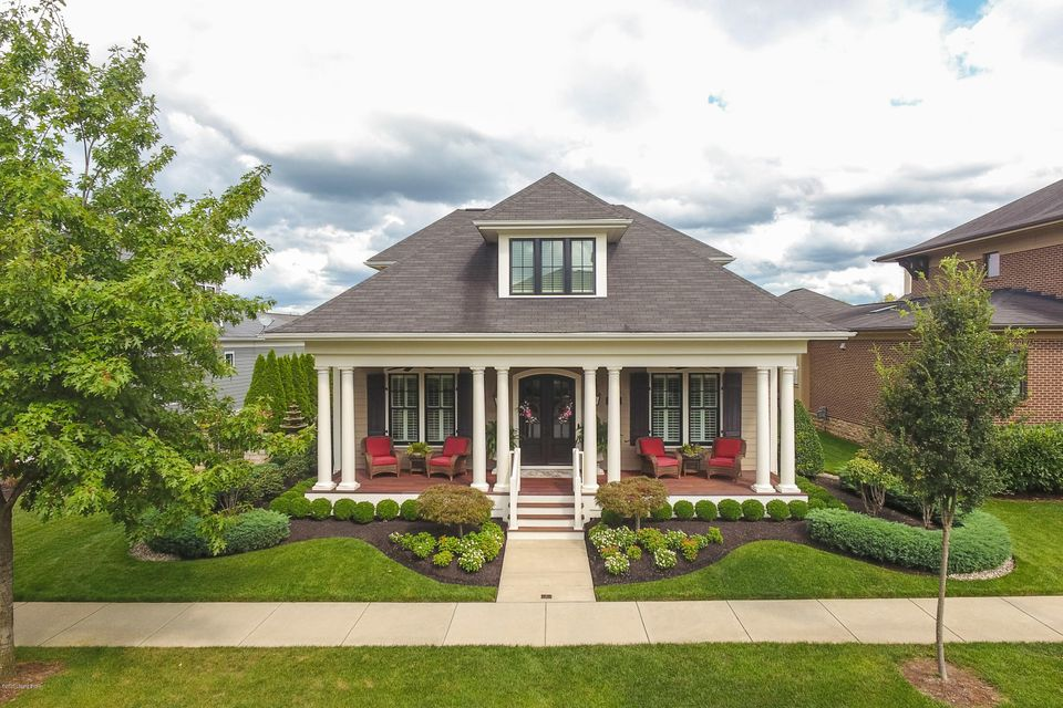 In one of the most desired areas of Louisville, surrounded by an English Garden sits this spectacular first time market listed Stonecroft built home in Norton Commons.  This 4,250+ sqft custom built home features four bedrooms, including a first floor owner's suite, four full bathrooms, one-half bathroom, finished basement, and 3 car attached...