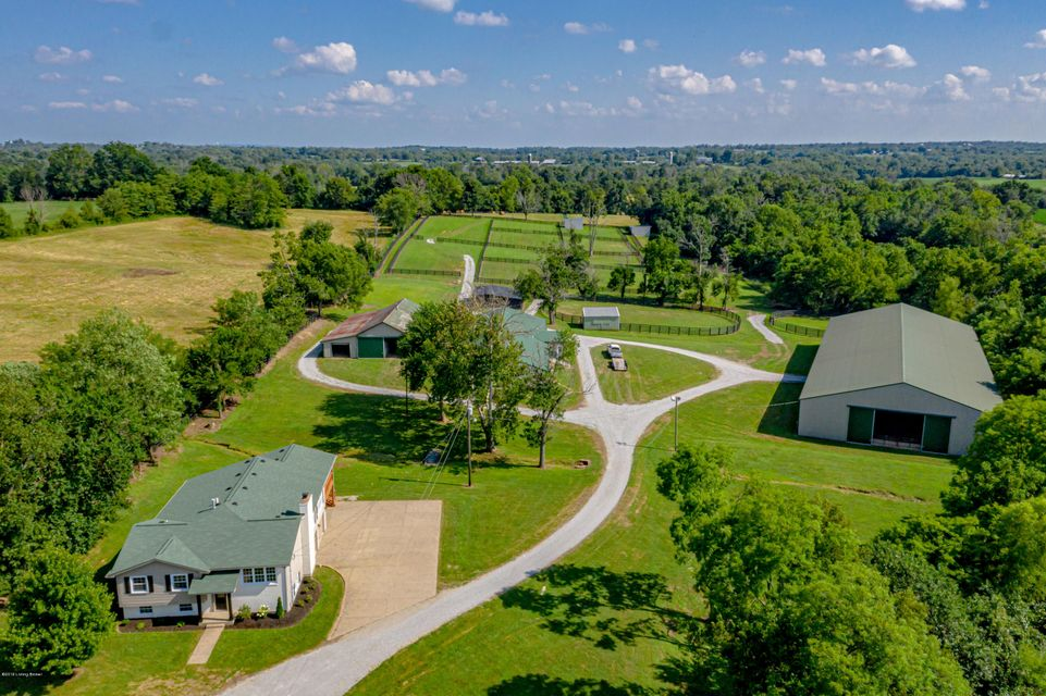 This turnkey Equine Estate is centrally located between Louisville & Lexington in Smithfield KY on 57 acres in pristine condition, ready for your horse facility! The 3bed/3bath home is completely renovated surrounded by finish mowed pastures and freshly painted fences with new gates. The move-in ready barns are updated & cleaned with automatic...