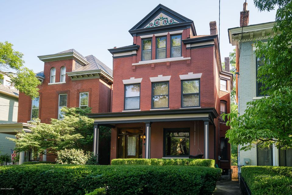 Located on the park side of Grinstead Drive in the historic Cherokee Triangle, this 4-bedroom, 5 1/2 bath home has a private, ensuite bathroom in every bedroom. The kitchen is open to the family room and deck with easy access to the formal dining room, traditional living room and powder room. Classic Victorian - tall ceilings, hardwood floors,...