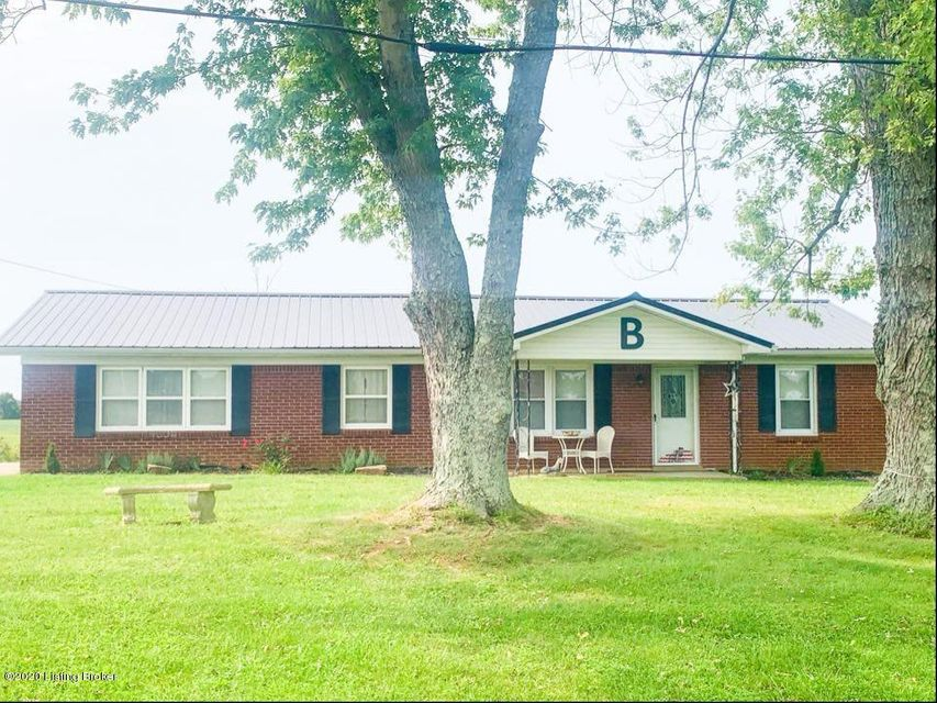 Welcome home to this adorable brick ranch style home that's situated on 3+/- acres. The land is cleared, with septic, county water, and a 24 X 12 shed. Roof was replaced with metal in 2019.Inside features include: 3 bed, 2 bath, 1,572 SqFt of total living space, an abundance of cabinetry in kitchen, Master bedroom with walk in closet and tiled tub in Master bath, tile flooring in kitchen, and much more. This home is conveniently located to the city of Hardinsburg but sits on the oust-skirts offering the country/rural feel. Call today to schedule your private tour as this gorgeous affordable home will not last long!