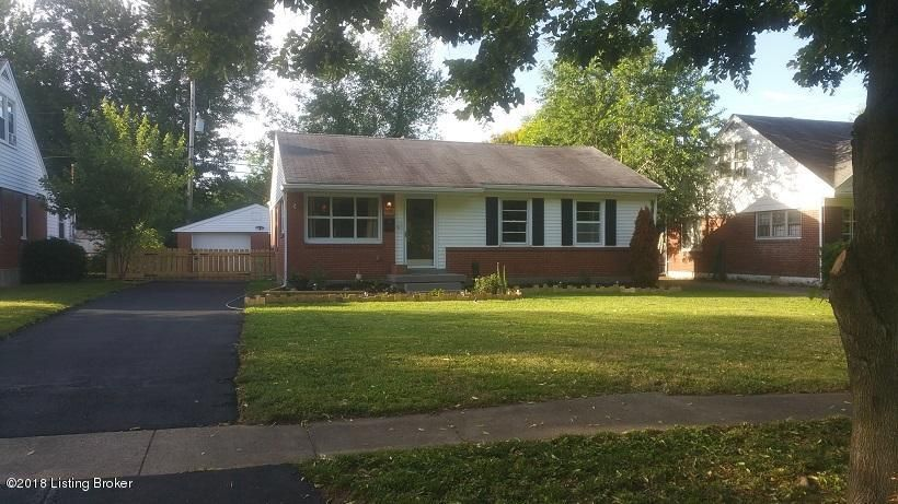 Wow! Wow! Wow! Great Location this is near the hospitals, dining, St. Matthews, Dupont, Hikes Point! 2 Bedrooms, 2 Baths, Office, Updated Kitchen, with granite countertops, completely remodeled, newer appliances, garage and carport! Must See!
