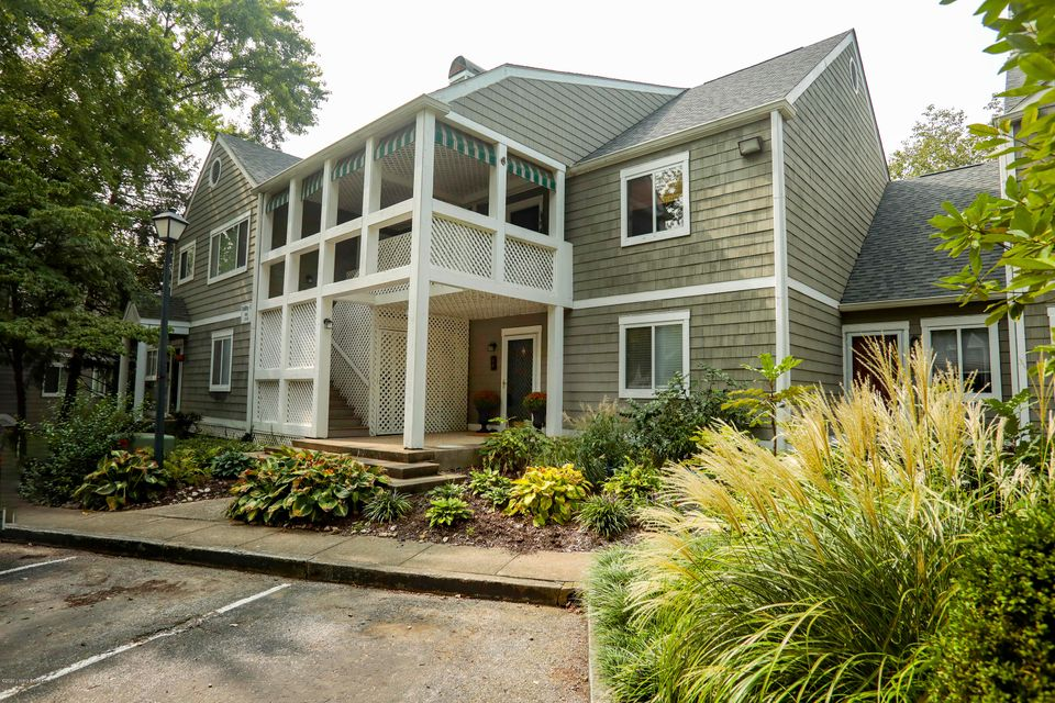 Welcome to this first floor 2BR/2BA condo in desirable Coppershire. This condo has been freshly painted throughout and is ready for the new owner. It features wood-look laminate flooring in the living areas. The kitchen is open to the dining area and has granite countertops and stainless appliances that remain. The living room offers great natural light as well as a fireplace. There is a bedroom and a full bath on the main level. The laundry is also on the first floor. The lower level features a private bedroomand bath. Enjoy the outdoors from the deck which is perfect for entertaining and relaxing. The seller currently has a home warranty in place for this condo and will extend it so that the new buyer has a one year warranty. Coppershire Condos offer a pool and clubhouse. This condo is