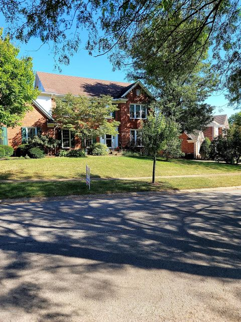 Springhurst Sub. home priced below appraised value, nestled with mature landscaping, many custom add on's, fresh paint,recently stainless steel appliances ,believed to be the only 4 1/2 BA, 5 Br in the neighborhood,Dining ,formal dining area, Living room w/family room featuring a  fireplace,LG Master w/Jacuzzi tub, spacious bathroom nice walk in closet, large Storage area in basement, xtra room used as a 6th BR.  FBA in basement, large game room/ family room with wall speakers and a kitchenette with lots of cabinets and mini frig. TV/ play acting area, another SM room with built in cupboard storage, ALL NEW energy effic. replacement windows. new AC 3 stat controls on a 2 system control .ADT, invisible fence nursery,office, 2nd floor laundry, nice common area,