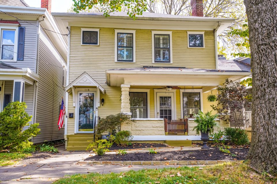 Located less then a block from Frankfort Ave, A mile+/- from Cherokee Park, Blocks from the Water Reservoir, Schools and Churches, Restaurants, Shops of all kinds surround this timeless traditional home that is awaiting your arrival. The mature treed street, shades you as you arrive. The covered front porch is calling for you to rest in the...