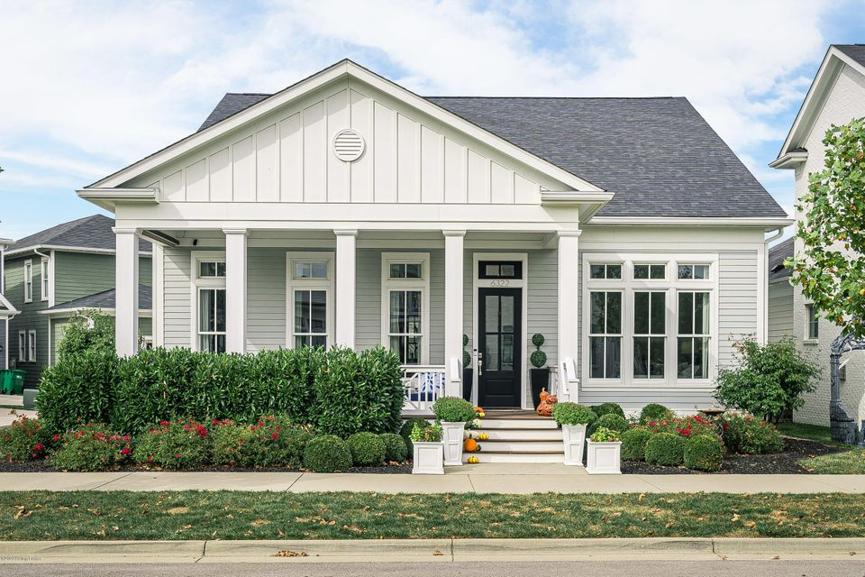 Welcome home! This SPECTACULAR  2016 HOMEARAMA favorite has all the bells and whistles! Another gorgeous home designed and built by Burrus Architecture & Construction, LLC. to be found in the North Villages of Norton Commons. Emerald Park can be viewed from the front porch and is a hop skip and jump away! Previously named the ''Happy Hour''......