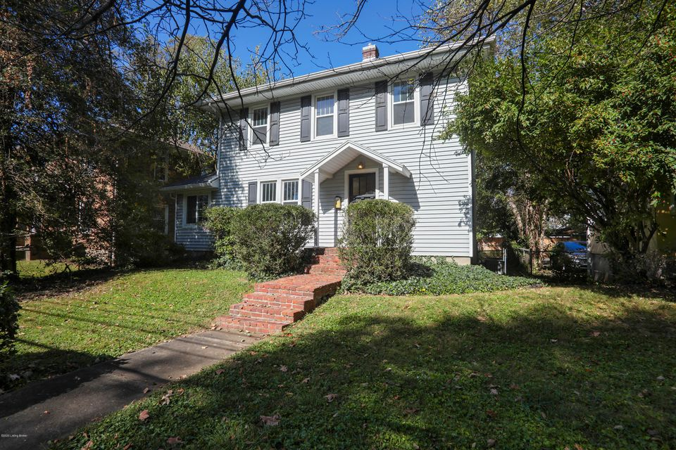 Welcome Home!  Step into this lovely 3BR/1.5BA home located within walking distance to Frankfort Avenue.   Just a house away from Stilz Av.   The home has been freshly painted and is waiting for it's new owner.   Large living room with ample coat closet opens to your dining room and sunroom giving you that open feeling. There is a half bath...