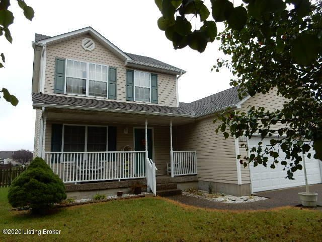 Convenient Lakes Of Dogwood area. Backs up to the Pond, cul de sac lot. New carpet upstairs, some new Flooring. Deck.  Primary Bedroom downstairs, additional bedrooms upstairs, Double drive for 2 car attached garage. Don't miss this opportunity. Immediate Possession.