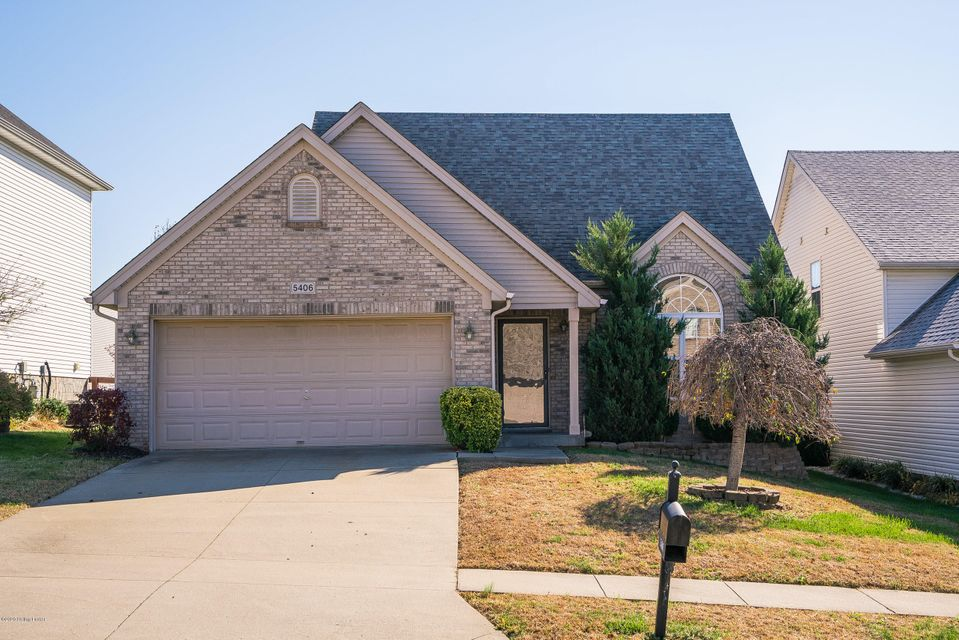 Beautiful 3 bedroom, 2 bath home in the Worthington Place neighborhood! This home features a 2 car attached garage and a large deck overlooking the fenced in back yard. When you enter the home you will notice the vaulted ceiling and large windows that allow tons of natural light to flow throughout the home. The first floor has stylish, gray...