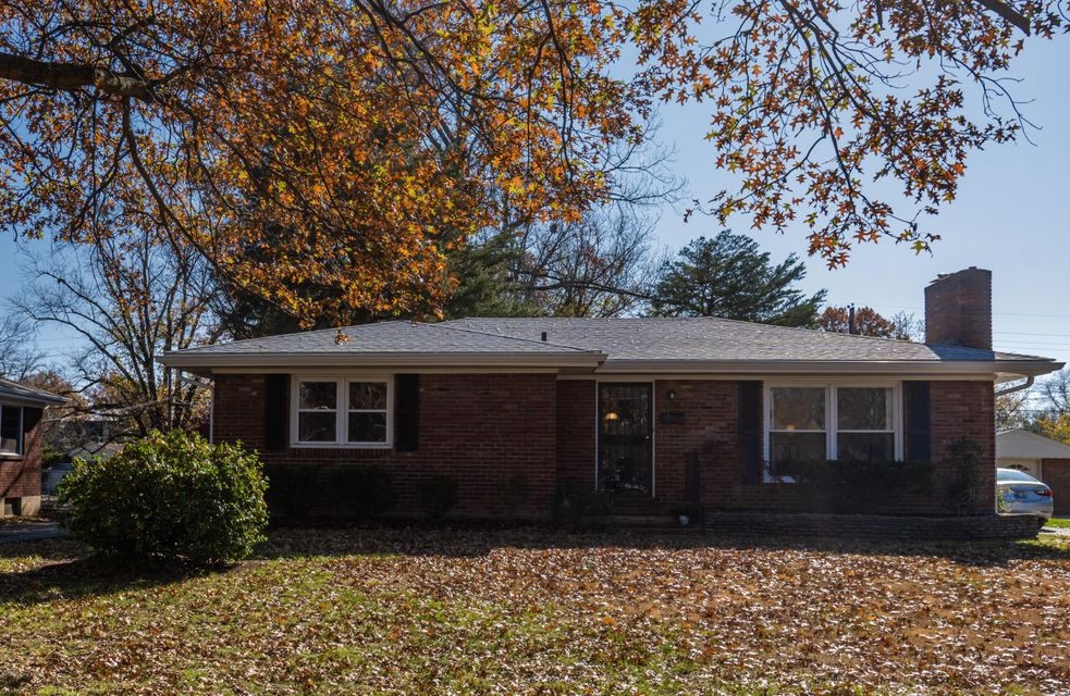 Check out this beautiful home in the desirable Woodlawn Park community.  Located within minutes from the Watterson Expressway and major interstate arteries, 5 minutes from the Mall St. Matthews/Oxmoor Malls, and more.  This home features 2 spacious bedrooms on the main floor and 2 rooms in the basement that have been used as bedrooms.  The...