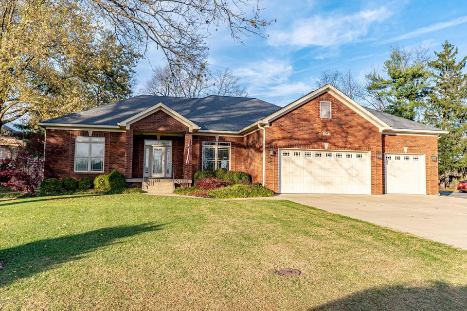 Truly one of a kind 14-year-old, spacious brick ranch in Greenleaves subdivision. Nearly 3000 square ft finished above grade in this gorgeous home which features an open floor plan plus a traditional dining room. The large master bedroom features new hardwood floors, a walk-in closet, HUGE bath with shower and his and hers vanities. There...