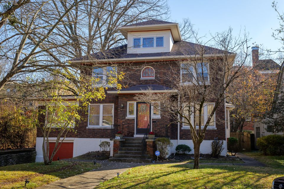 Nestled park side in one of the most charming areas of town, this Highlands classic is move-in ready! Just blocks from both Bardstown Road and Cherokee Park, you'll enjoy living in this fabulous location in a renovated home. The foyer opens into a spacious living room with fireplace and bookshelves. It adjoins a light-filled sunroom as well...