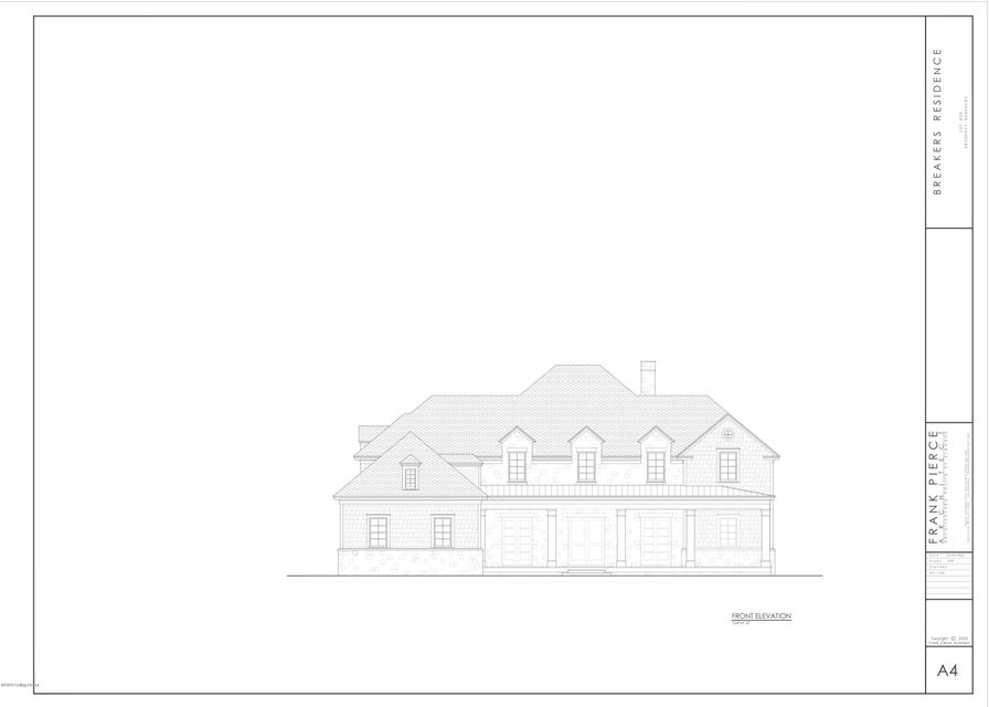New Construction by Bespoke Built Homes in The Breakers at Prospect. This home will feature 8 ft interior openings, loads of custom moldings, high ceilings, a great room with a fireplace, spacious gourmet kitchen with pantry, dining room, primary bedroom with ensuite that offers double walk-in closets, an office, laundry/mudroom, and a screened-in...