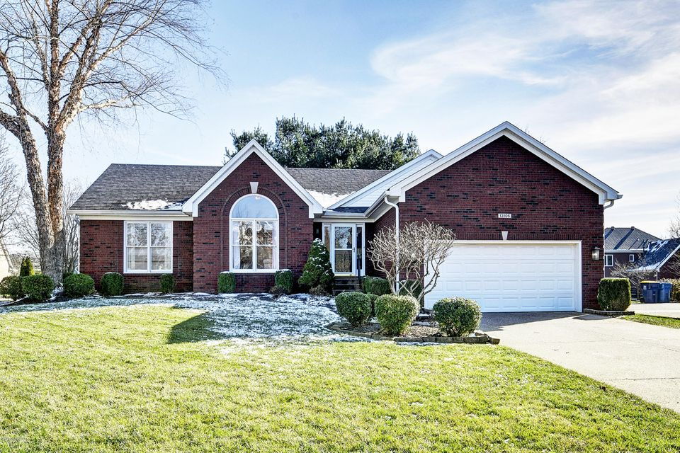 This adorable brick ranch in the very popular development of FOREST SPRINGS NORTH has been lovingly lived in for over 14 years. Now this beautiful home is ready for a new owner! The updated renovated kitchen with granite counter tops and stainless steel appliances is so inviting! How it overlooks the vaulted living room with a gas fireplace...