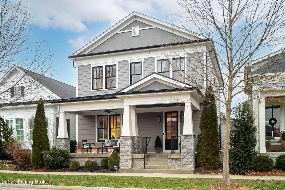 **See virtual walk through** 4 bedroom, 3.5 bath luxury listing. Do not miss this opportunity to own a home in the coveted Norton Commons community. Enjoy resort style living with restaurants, retail shops and lots of green space just steps from your front porch for you and the kids to enjoy. This Bill Meadows custom built home is located near the established South Village Town Square and just steps from Jimson park. This is a larger sized home in the community and begins with a charming exterior that includes a spacious front porch with wood planked ceilings, ideal for gathering with neighbors. Upon entering the home, you will instantly notice the meticulous attention to detail that separates this home from the others.Owner occupied home, do not peek in window.