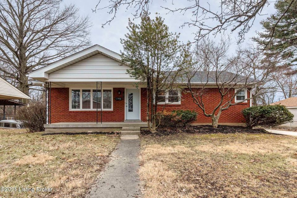A rare find in the Brookhaven subdivision! This home is perfectly located minutes from I-264, hospitals, shopping malls, and restaurants. This beautiful home includes 3 bedrooms, 1.5 baths, 2 spacious family rooms, a large eat-in kitchen, an office on the lower level that could be used as a fourth bedroom, a 2 car garage, and a large flat backyard with a great patio perfect for entertaining. This brick home also offers hardwood floors throughout the main level and fresh paint. Schedule your showing today! This house won't last long! Disclaimer: Listing agent is related to the sellers.