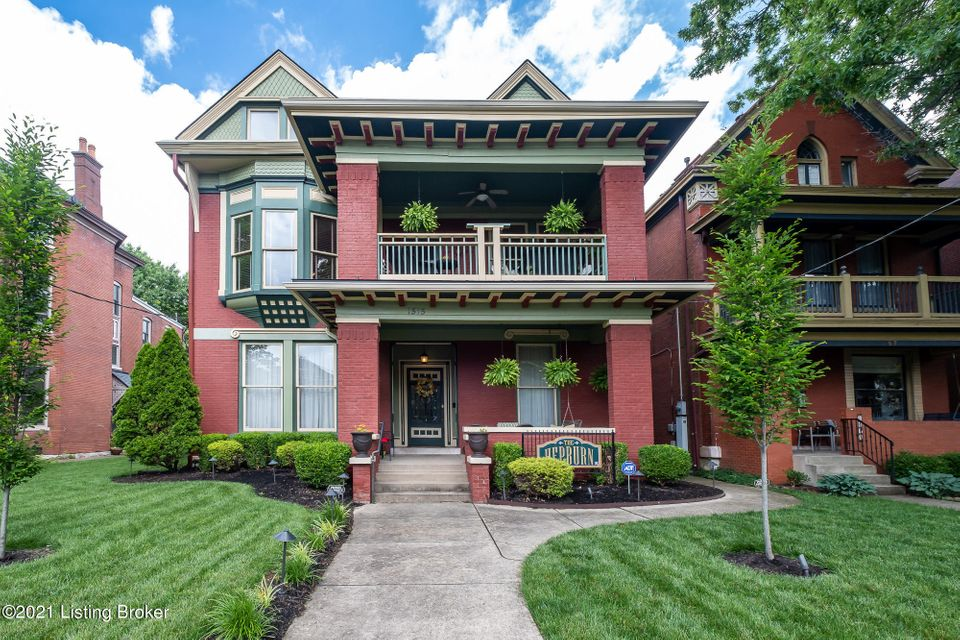 Welcome to the Hepburn! This historic home is steps away from Bardstown Rd and some of Louisville's top restaurants, boutiques, and entertainment. Walking up to this 1890's Victorian style home you will notice the well-maintained landscaping and outdoor lighting to highlight the inviting front porch and balcony. Entering in the front door and private entrance of unit 2 you will find the home has the original charm and character all throughout the three floors that you have been looking for. The foyer features a grand staircase where the current owners added a new acorn stair lift to service the entire unit.
