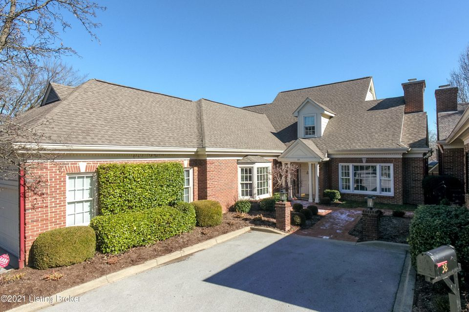 Welcome to this custom designed home in the Bonniewood subdivision. This home features a large  entry  foyer with arched entryways into the formal living room, study, dining room, and eat in kitchen. The first floor primary suite has access to 2 full baths with abundant closet space.  There are hardwood floors, two fireplaces, with many built-in...