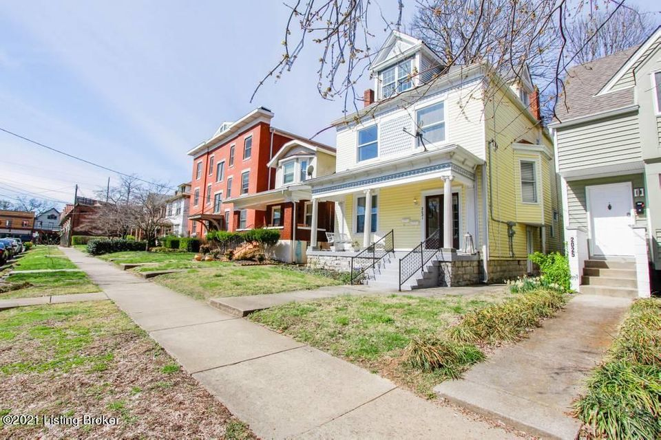 This beautiful property  is located in the popular Highlands area.  It is a wonderful opportunity to own a piece of history that is beautifully decorated, fully furnished and updated.  This property includes 2 lovely condos. Condo 2 includes a loft that can rented separately. The units are registered with AirBnB but you can choose to live...