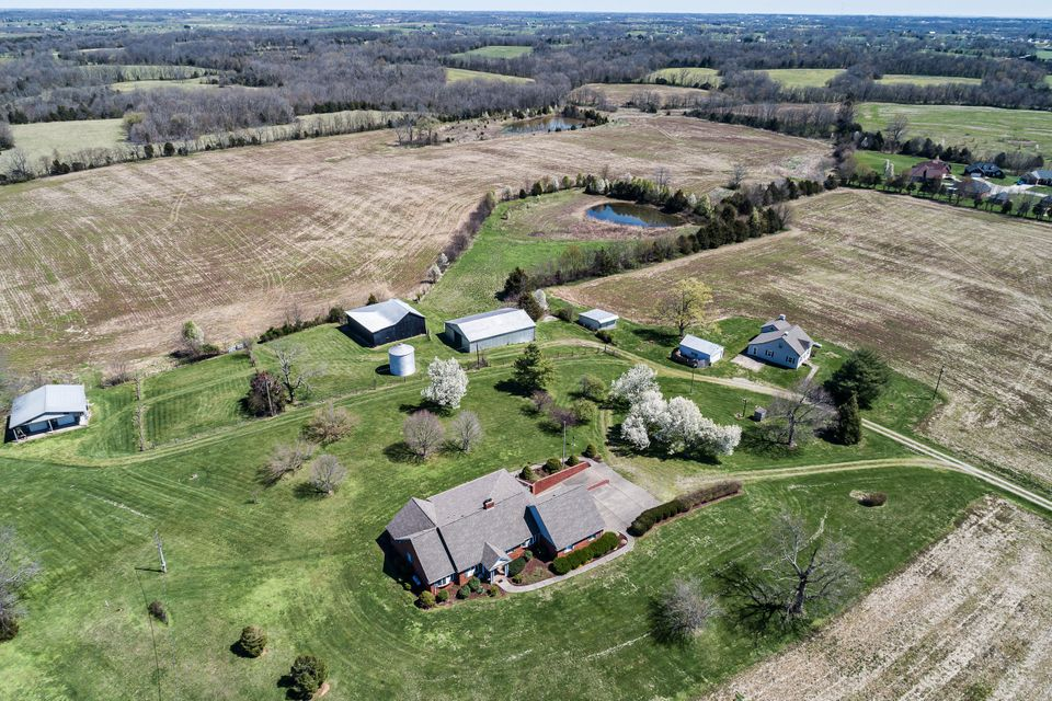 You will not find another property like this in the center of Nelson County. Property has 2 homes, 90.78 acres, 3 barns, 1 workshop, a 2 car detached garage, and 2 grain bins. The majority of the land has been used for crops but could be used for pasture as well. The Main home has approx 4,700SF, 3 bedrooms, with the potential of 5 (2 non-conforming),...