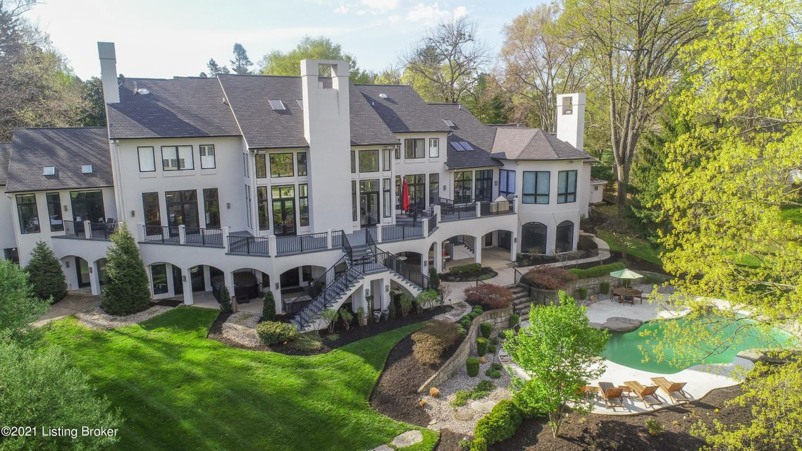 Drone pictures of the pool and grounds coming soon.Everything about this 13,000 square feet of living space is a WOW, swimming pool with rock waterfall and a villa-inspired outdoor covered  area with over 2,000 square feet of covered and heated entertaining space.Oversized 8 Car garages with new glass garage doors. The seller just had the...